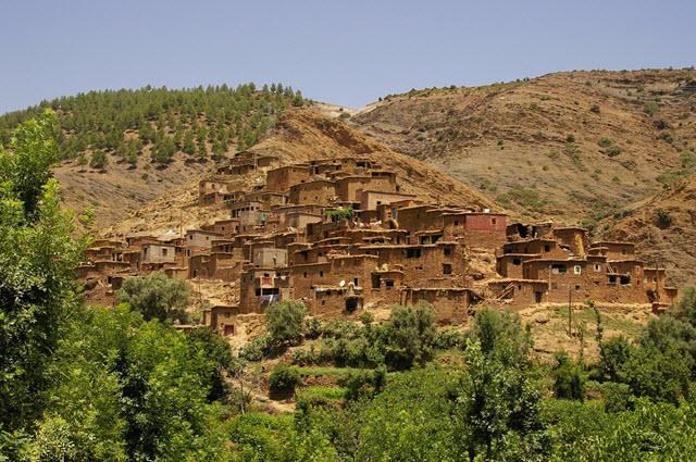 Les choses voir autour de marrakech visiter - The tiny house village a miniature settlement ...