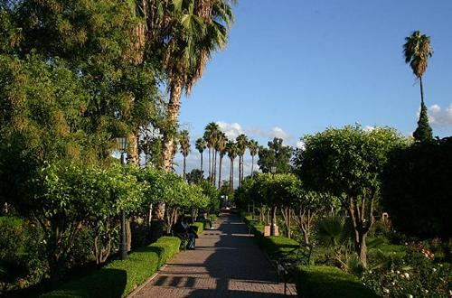 jardins de la menara