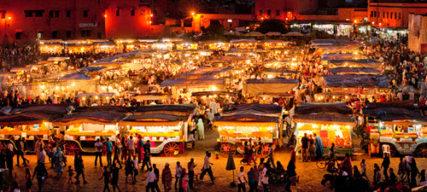 Les restaurants insolites de Marrakech