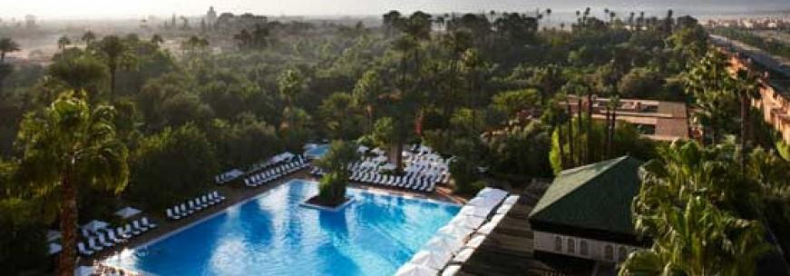 Les hôtels de rêve à Marrakech