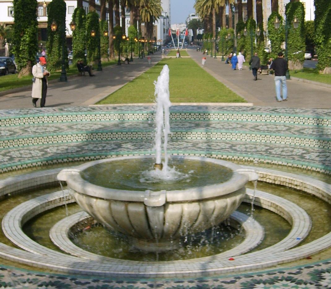 L'avenue Mohammed V