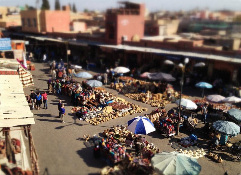marrakech insolite
