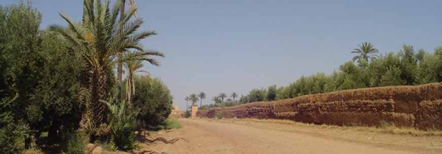 Les jardins d'Agdal