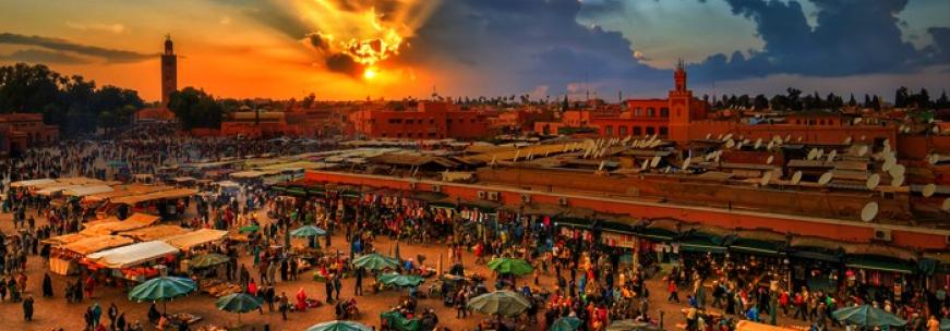 Visiter Marrakech à pied