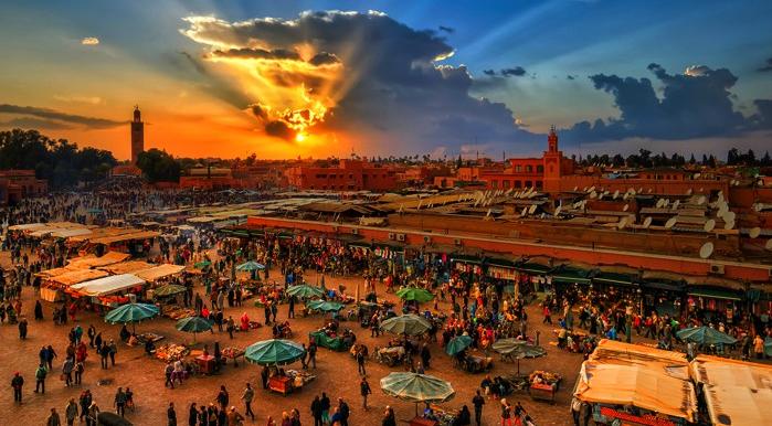 Marrakech à pied