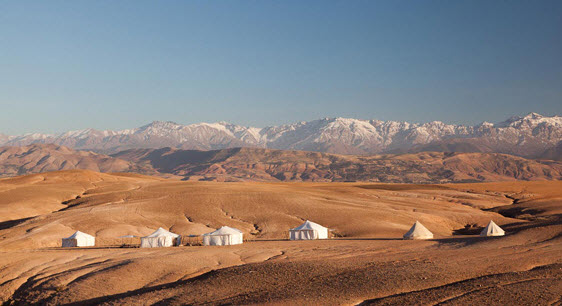 Le désert d'Agafay